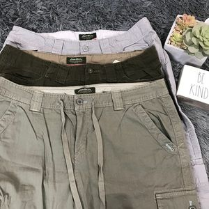 3- Eddie Bauer organic cotton outdoor Capri 14